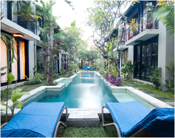 16 Townhouses in Bali with 5 Stars Facilities
